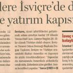 Dünya Gazetesi, 15 Ocak 2013