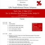 Çifte Vergilendirme Semineri – 19 Mart 2013