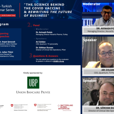 The 8th Swiss-Turkish Webinar Series was held.