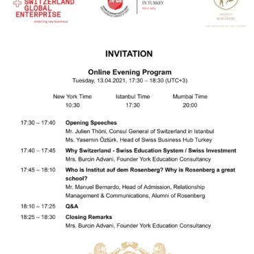 York Education Program, 13 April 2021