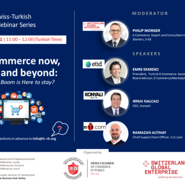"""9th Swiss-Turkish Webinar Serires 