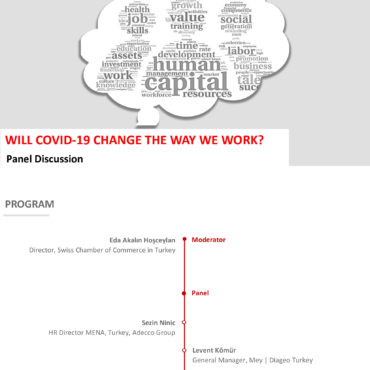 """01 July 2020, Online """"WILL COVID 19 CHANGE THE WAY WE WORK?"""""""