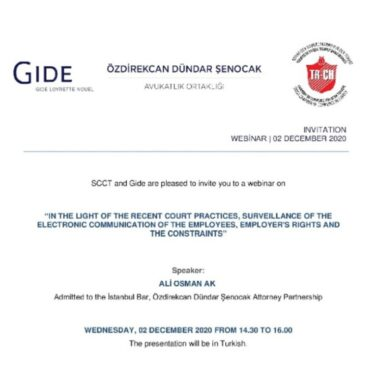 02 December 2020, Legal Workshop with Gide Loyrette Nouel