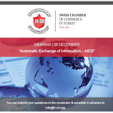"WEBINAR | 08 DECEMBER | ""Automatic Exchange of Information – AEOI"""